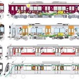 阪急・阪神・東急が協働 「SDGsトレイン」、9月8日から3社同時運行