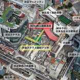 渋谷駅西口の歩行者デッキ、9月26日供用開始 JR玉川改札は閉鎖