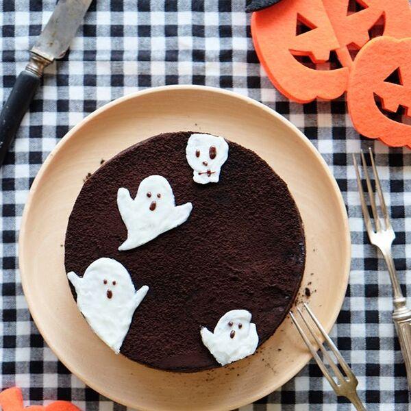 ハロウィンの可愛い手作りケーキ☆ホール2