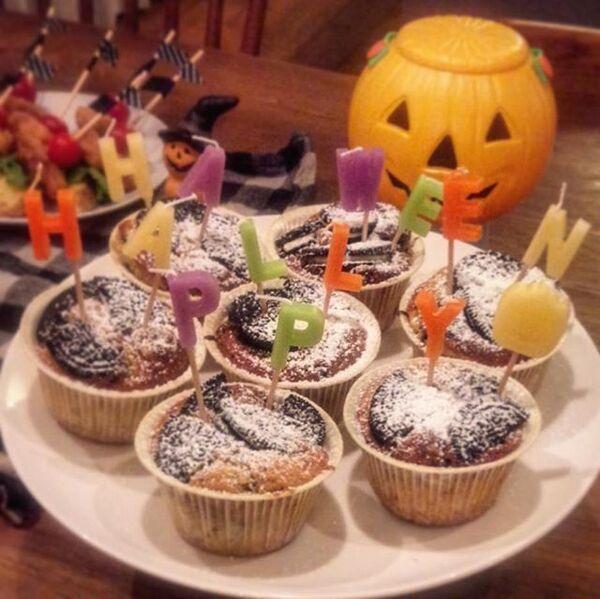 ハロウィンの可愛い手作りケーキ☆カップ系11