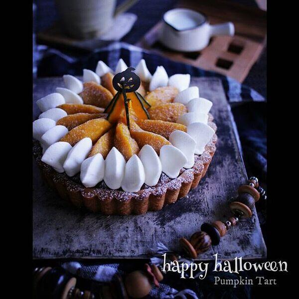 ハロウィンの可愛い手作りケーキ☆ホール3