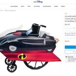 ディズニーが『インクレディブル・ファミリー』『シンデレラ』にインスパイアされた車いすカバーを発売