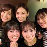 """小松彩夏、""""いつかの戦士会""""写真で北川景子のBD祝福!"""