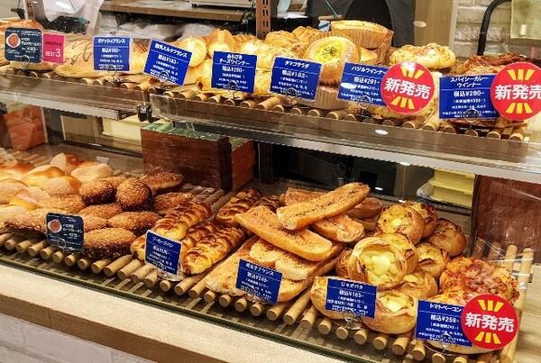 バックハウスイリエ ショーケースのパン