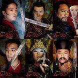 『ムーラン』ポスター6種一挙解禁、物語の鍵を握る登場人物が勢揃い