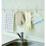 片側がフックになった洗濯ばさみなら、空間を有効活用&整理整頓が捗る