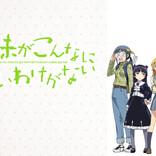 【niconico】9月は「宝石の国」「ダンベル何キロ持てる?」「俺の妹がこんなに可愛いわけがない」他、アニメ6作品がプレミアム会員ならば見放題! 【アニメニュース】
