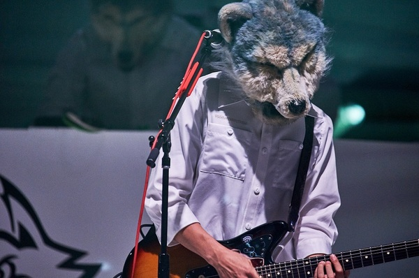 "MAN WITH A MISSION『MAN WITH A ""REBOOT LIVE & STREAMING"" MISSION』 撮影=酒井ダイスケ"