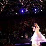 森口博子、TRUEとコラボで「機動戦士ガンダムF91」主題歌を熱唱「祈りを込めて」