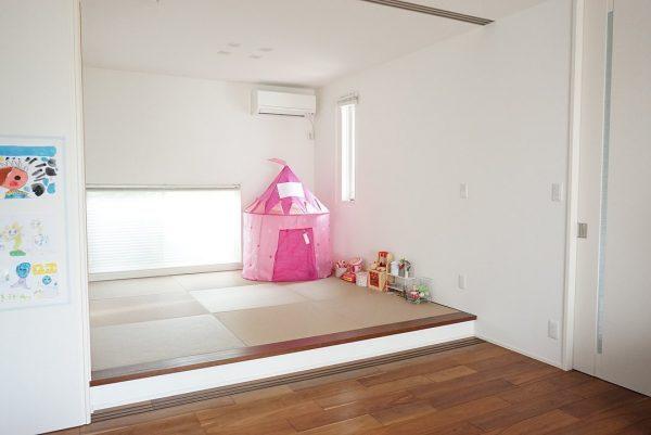 子供部屋仕切りアイデア【キッズスペース】3