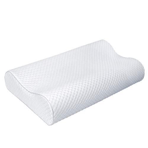 V.Vient 枕 安眠 まくら 人気 肩こり安眠枕低反発立体構造ランキング いびき防止枕頚椎サポート健康枕仰向け横向きプレゼント通気性抜群 抗菌55x35cm