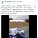 踊りながらバイクに乗る警察官が懲戒処分に 「楽しんでるだけ」「何がいけないの?」擁護の声続々(南ア)