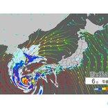 台風10号 暴風・高潮に警戒 東海などでも警報級の大雨続く恐れ 竜巻も