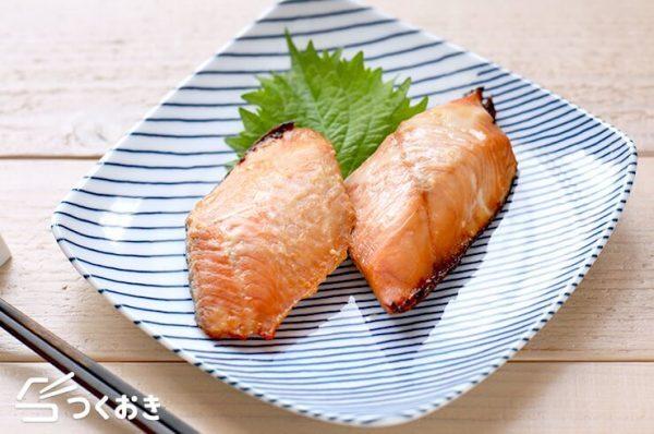 美味しく変身!魚の切り身で鮭の西京焼き