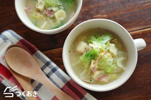 OLさんにおすすめ!簡単美味しいお弁当レシピ☆スープ3