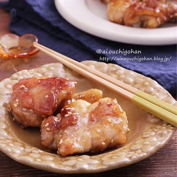 焼くだけ簡単な鶏もも肉レシピ☆お弁当