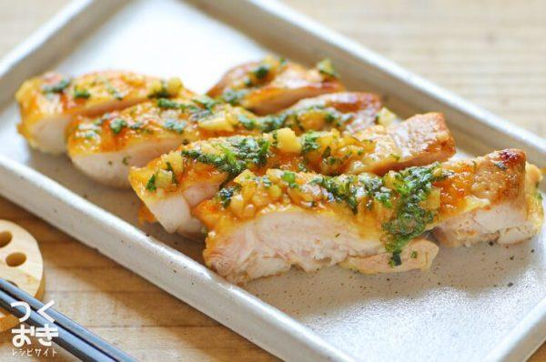 焼くだけ簡単な鶏もも肉レシピ☆おつまみ3