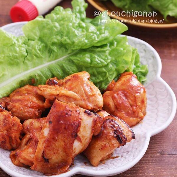 焼くだけ簡単な鶏もも肉レシピ☆おつまみ5