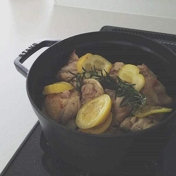 焼くだけ簡単な鶏もも肉レシピ☆おもてなし2
