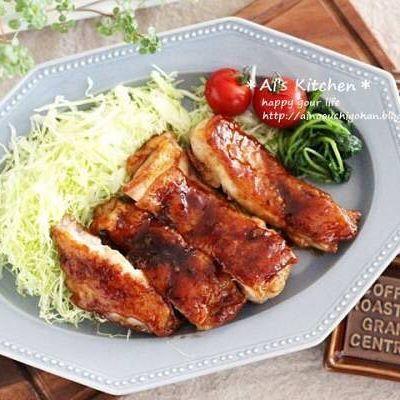 焼くだけ簡単な鶏もも肉レシピ☆主菜