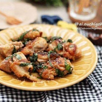 焼くだけ簡単な鶏もも肉レシピ☆主菜6