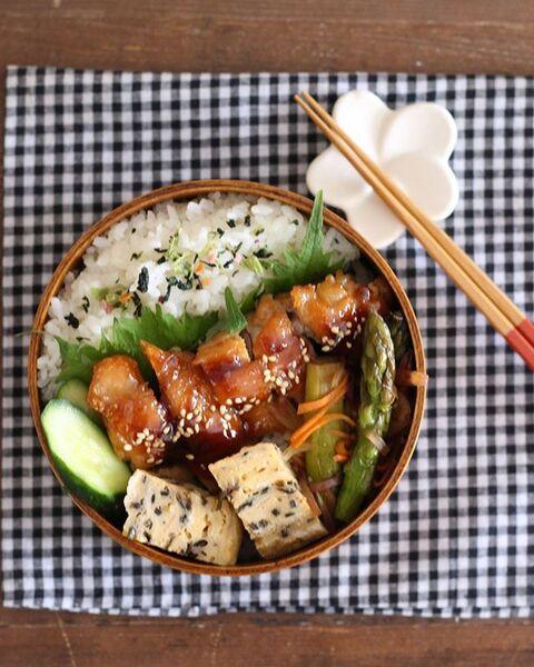焼くだけ簡単な鶏もも肉レシピ☆お弁当4