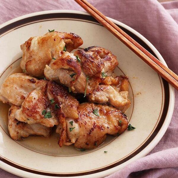 焼くだけ簡単な鶏もも肉レシピ☆お弁当5