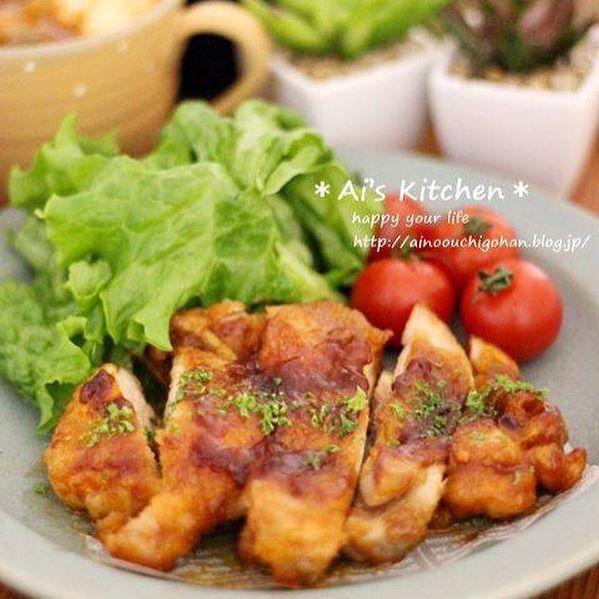 焼くだけ簡単な鶏もも肉レシピ☆お弁当7