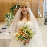 丸山桂里奈、静岡で一足早くウエディングドレス姿を披露していた