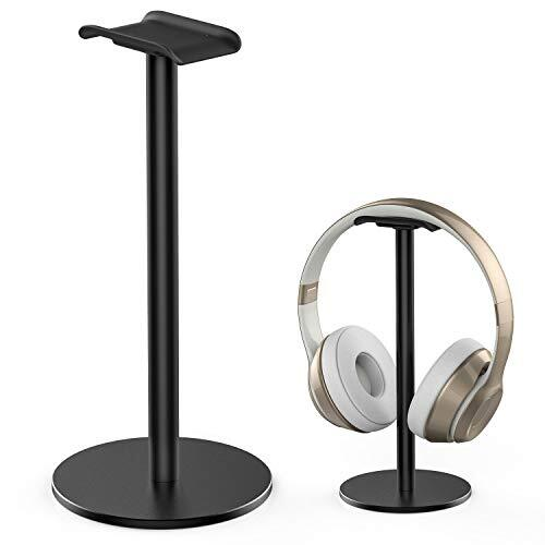 ヘッドホンスタンド アルミ合金製 組み立て簡単 高さ23cm ヘッドホンハンガー BOSE AKG Beats Sony Audio-Technica Panasonic KingTopなど対応