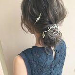 結婚式のお呼ばれセルフヘアアレンジ!簡単にパーティードレスに似合う髪型の完成♪