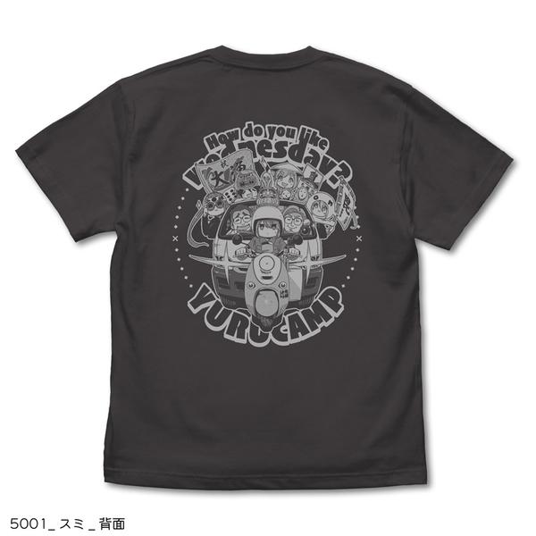 Tシャツ_後ろ (C)あfろ・芳文社/野外活動委員会