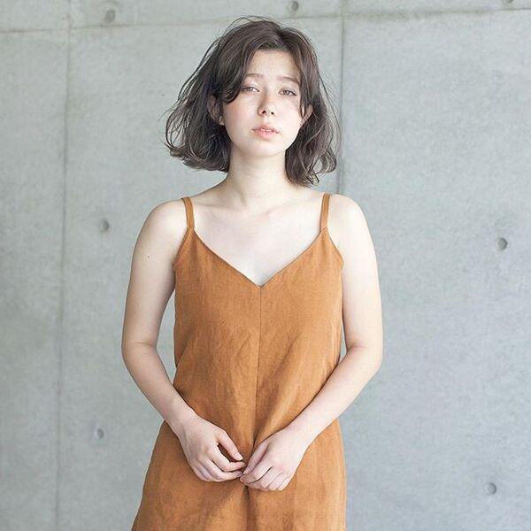 30代に似合う冬のパーマ【ショート~ボブ】5