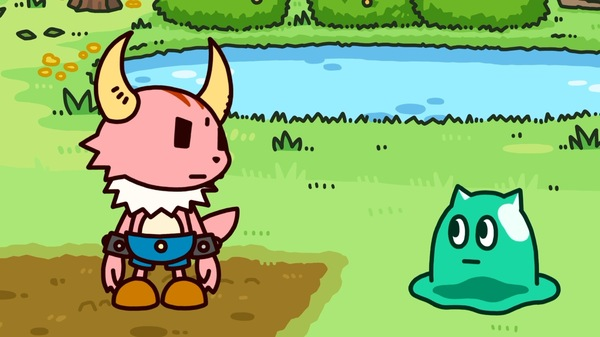 カク(左)とイムラ(右) (C)VAP