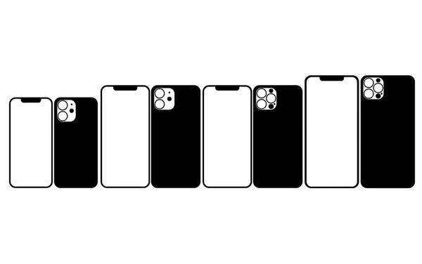 iPhone12と思われるイラスト