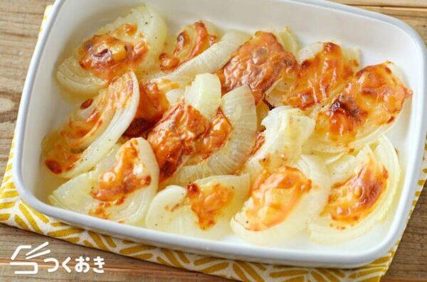 美味しい玉ねぎチーズのオーブン焼き