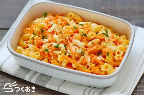 野菜たっぷり!人気のマカロニサラダ