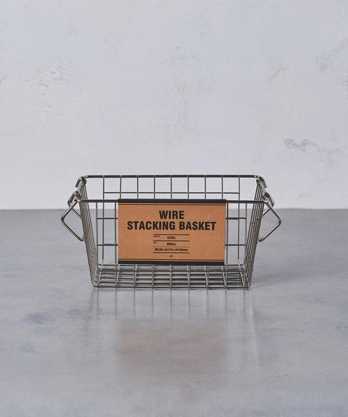 [UNITED ARROWS] <ENTREX>ワイヤー スタッキング バスケット S