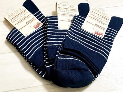 靴下は全て同じ柄にすれば組み合わせ作業が不要になり時短になる