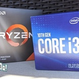 安くPCを自作したい! Ryzen 3 3300XとCore i3-10100、お手頃最強CPUはどっち!?
