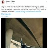 低予算で映画並みのカメラワークを再現する方法 『マトリックス』のバレットタイムや『ハリー・ポッター』の透明マントも