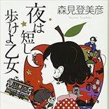 映画「夜は短し歩けよ乙女」カラフルポップな不思議の世界!ピュアな恋愛模様に魅了される