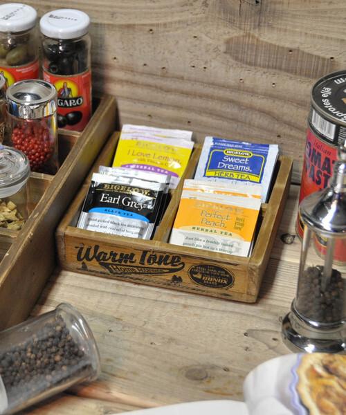 お茶の時間が楽しくなるボックス