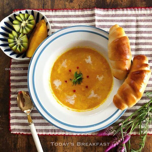 スープジャーのお弁当に。人参のポタージュ