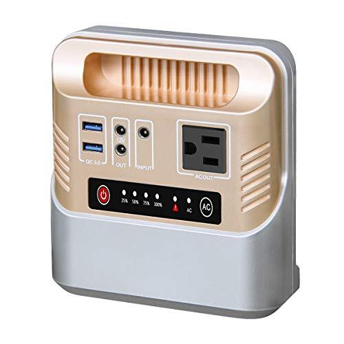 Enginstar ポータブル電源 146Wh/39600mAh 大容量 モバイルバッテリー PSE認証済/AC/DC/USB/急速充電QC3.0搭載出力 家庭用蓄電池 AC100W 車中泊 キャンプ 緊急・災害時バックアップ用電源