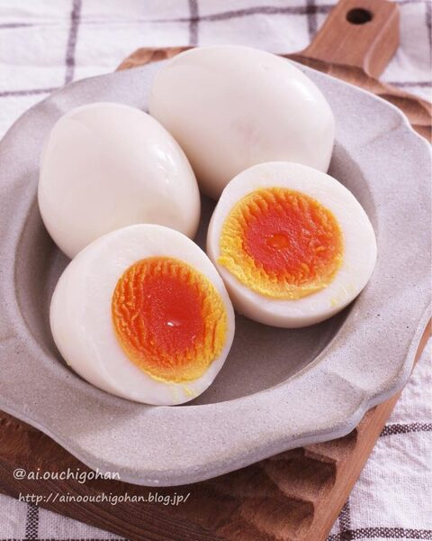 簡単ゆで卵レシピ!白だし味玉
