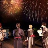 Da-iCEの配信ライブツアー最終日、巨大倉庫からダイナミックな演出&66発の花火でフィナーレ