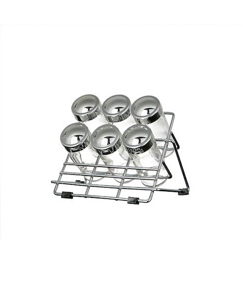 [DULTON] 6 BOTTLES SPICE RACK