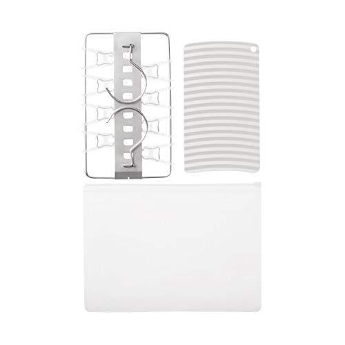 無印良品 携帯用ランドリーセット 洗濯板・ミニ角型ハンガー 82107197