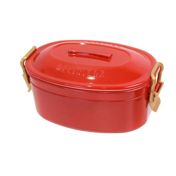 赤いランチボックス